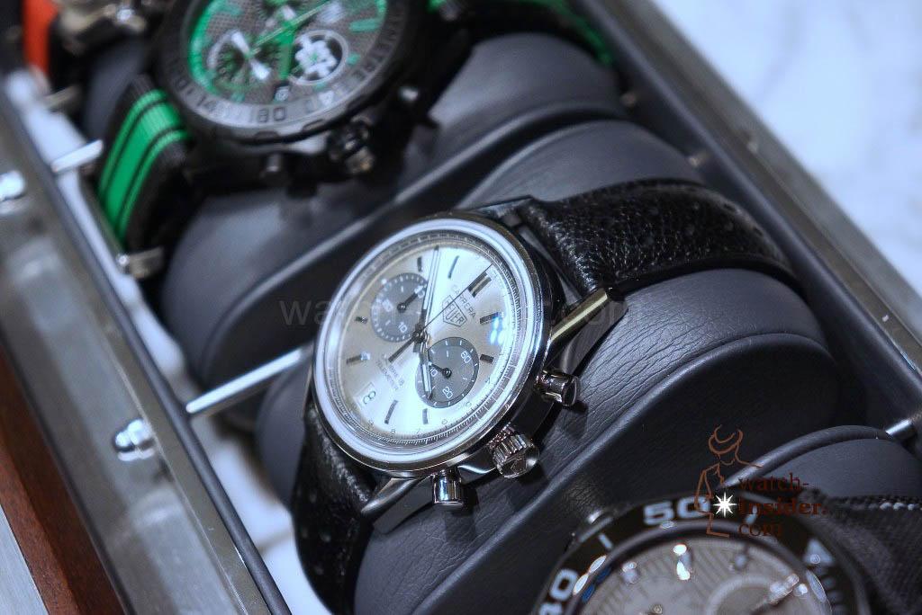 Heuer Carrera (39MM) Calibre 18 Automatic Chronograph Glassbox