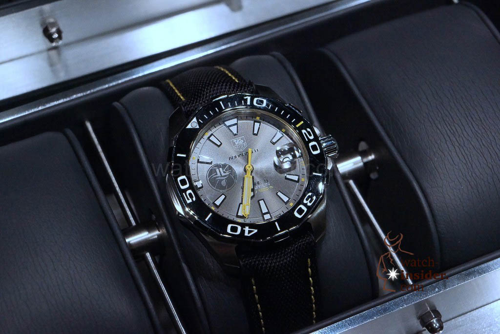 TAG Heuer Aquaracer 300M Ceramic (41mm) Calibre 5 Automatic Special Edition Jeremy Lin 200 Pieces not numbered