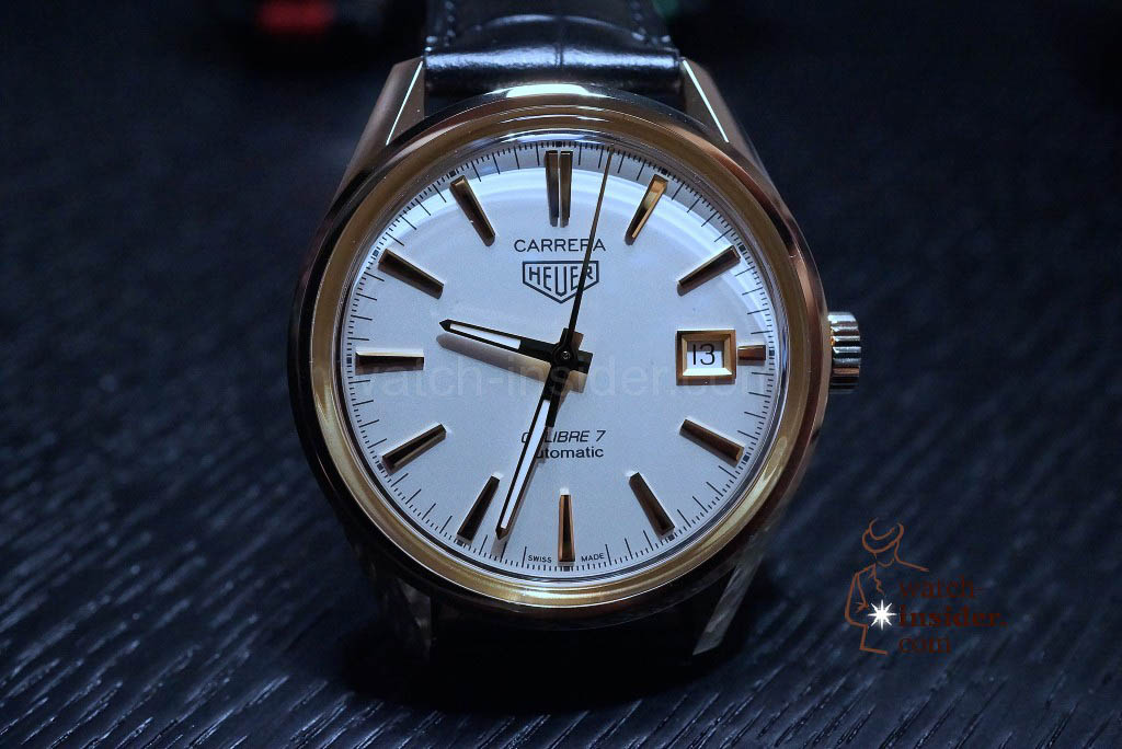 TAG Heuer Carrera (39mm) Calibre 7 Automatic Yellow Gold (18K 3N) Glassbox
