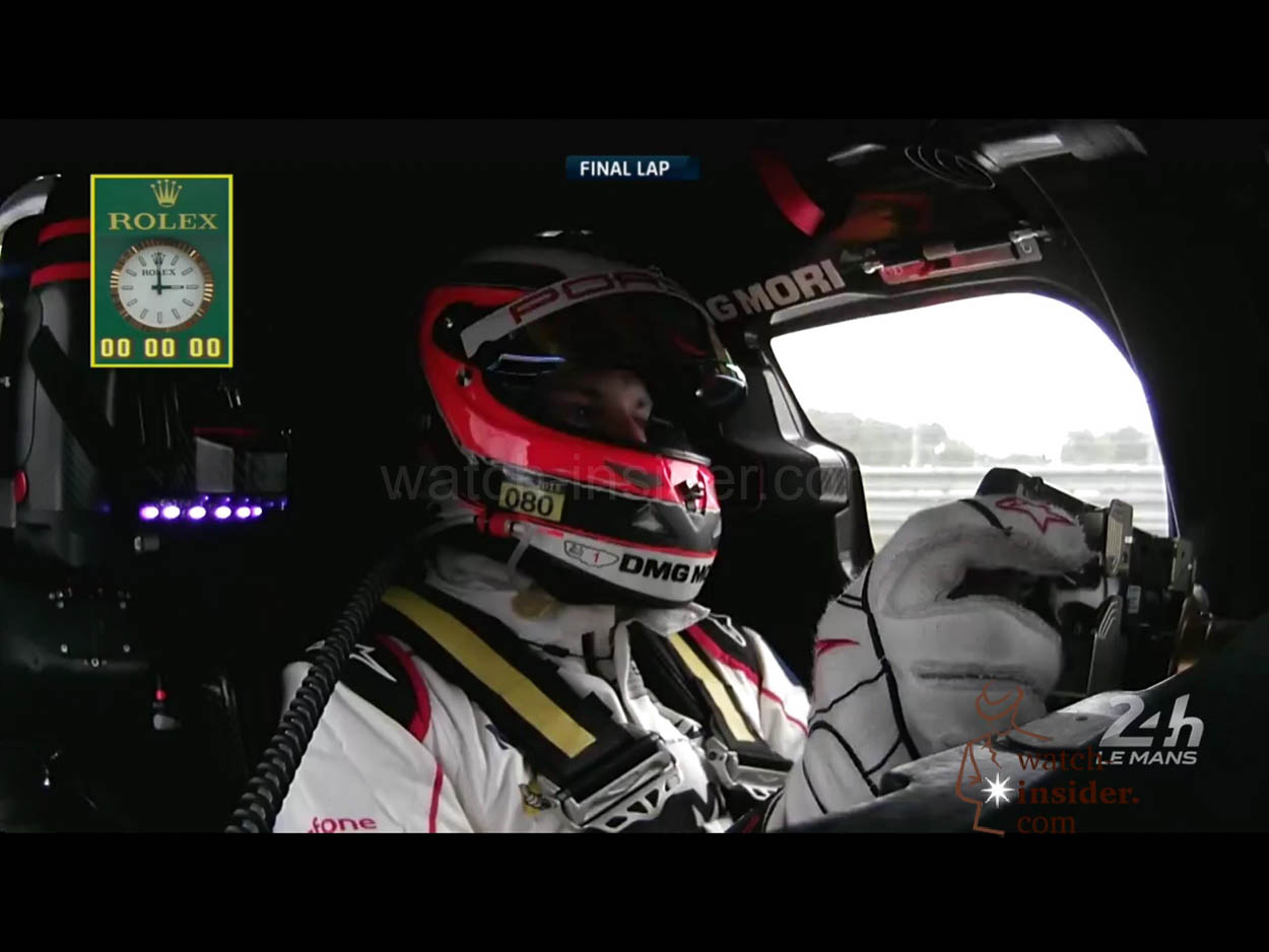 24 hours of le mans and the winner is rolex watch. Black Bedroom Furniture Sets. Home Design Ideas