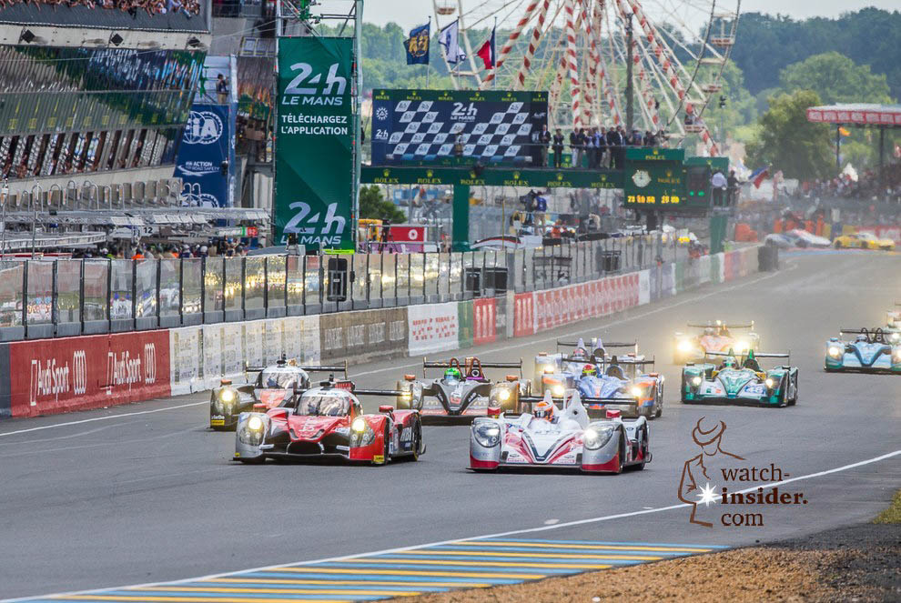 Rolex 24 Hours of Le Mans Timekeeping