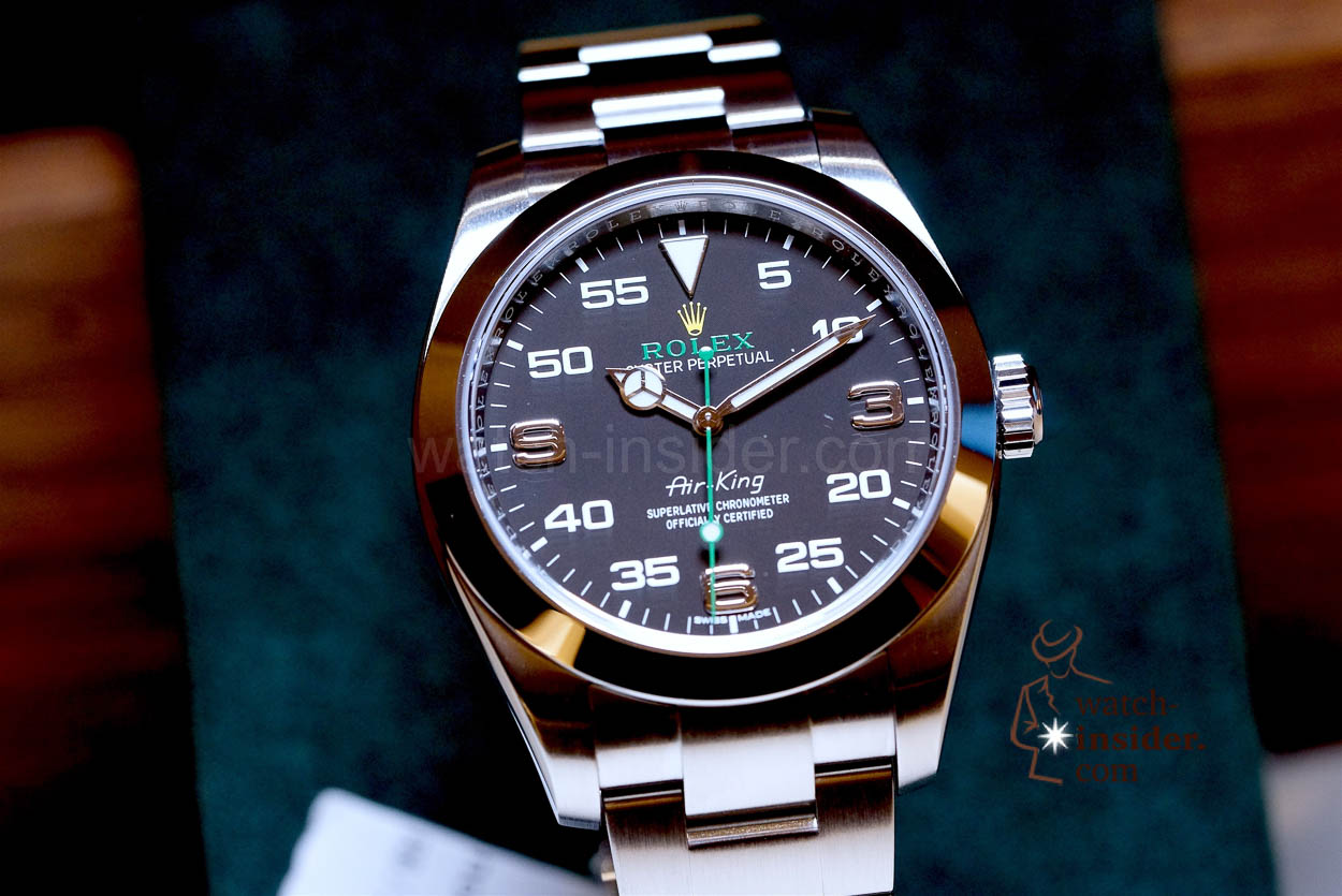 Baselworld 2016 rolex air king watch for Rolex air king