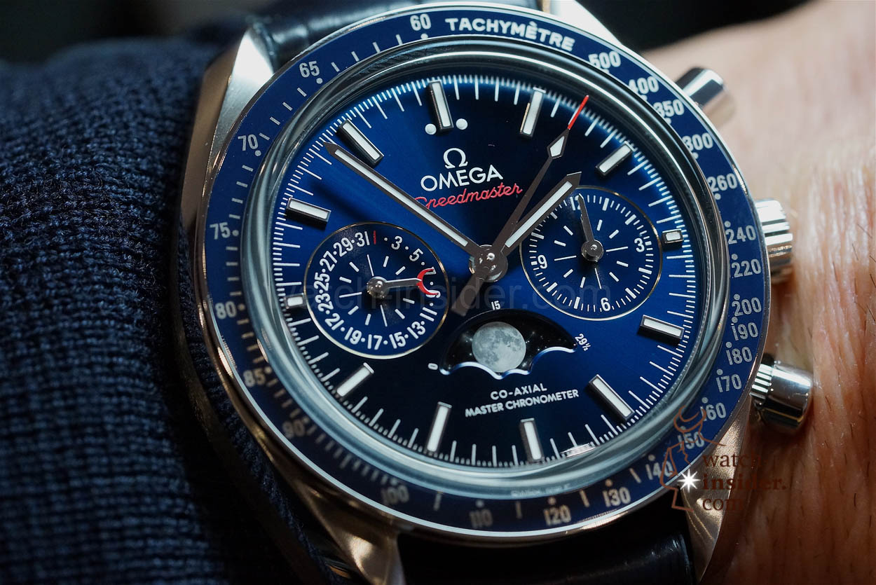 Hands On Omega Speedmaster Co Axial Master Chronometer