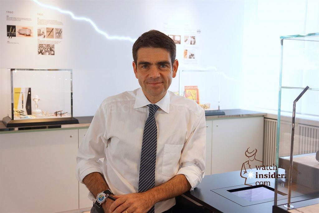 Jérôme Lambert, CEO Montblanc International