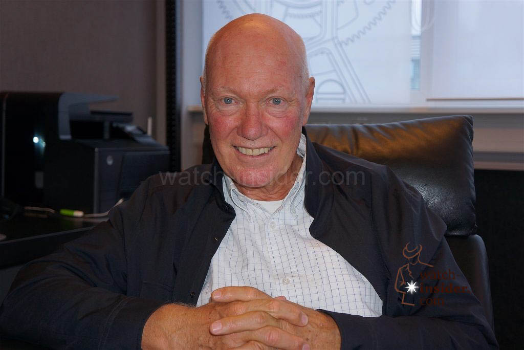 Jean-Claude Biver, CEO TAG Heuer, CEO Zenith, Head of LVMH Watch Division