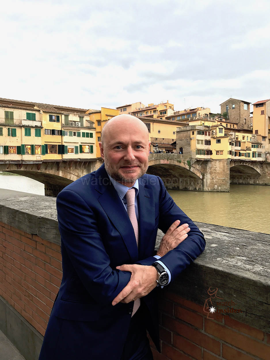 Talking with Georges Kern, CEO IWC Schaffhausen, about the ...