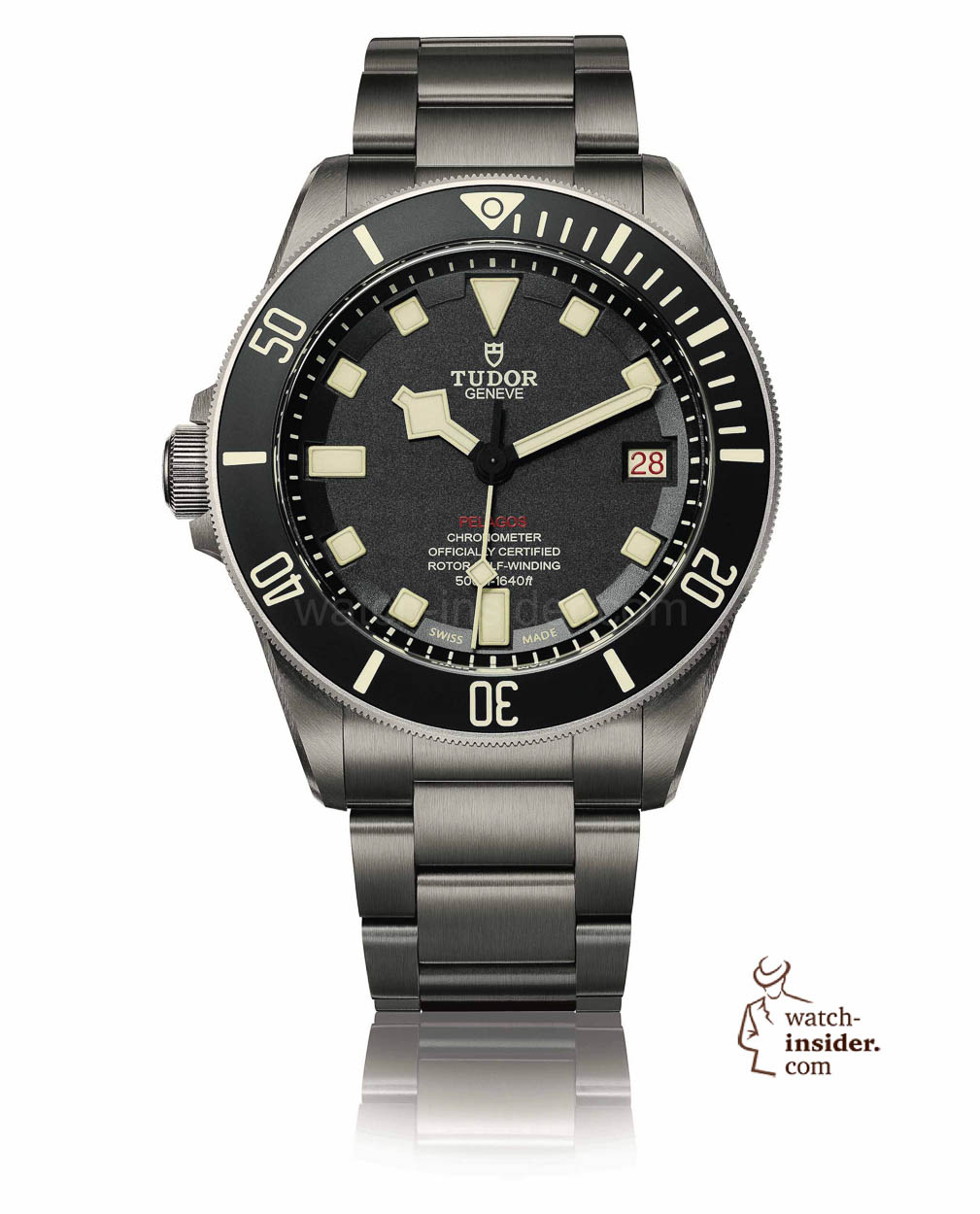 tudor pelagos lhd left hand drive the right choice when you are left handed watch. Black Bedroom Furniture Sets. Home Design Ideas
