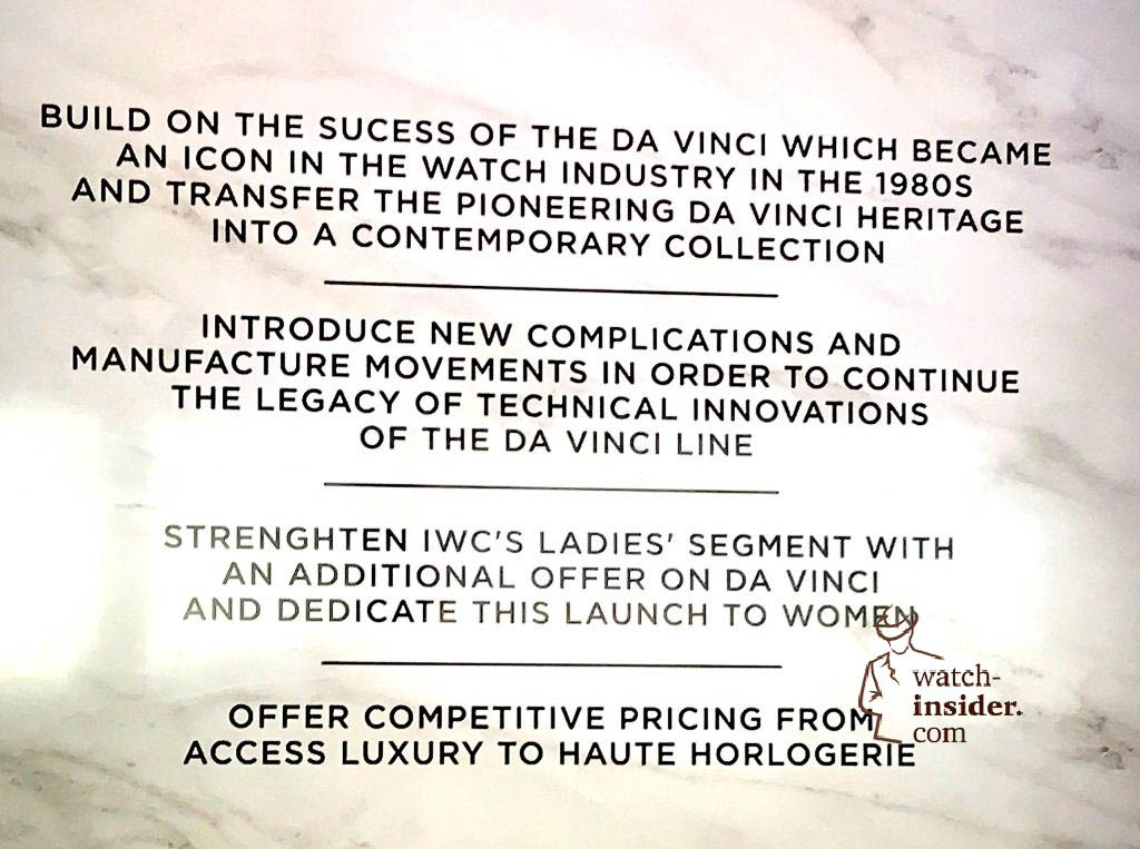The key facts of the IWC Schaffhausen Da Vinci