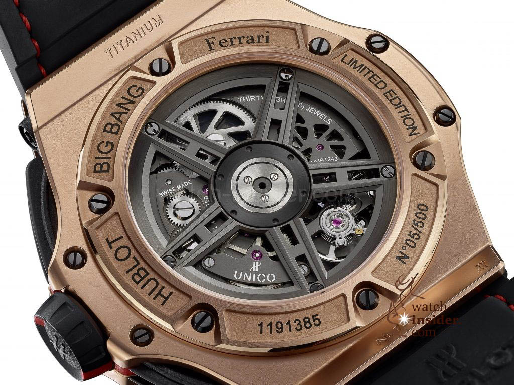 HUBLOT Big Bang Ferrari King Gold