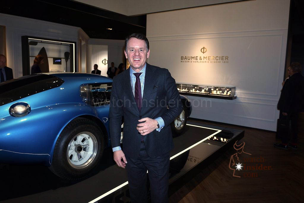 Alain Zimmermann CEO Baume & Mercier