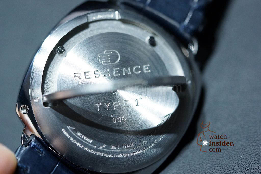 "Ressence TYPE 1 2 ""Squared"""