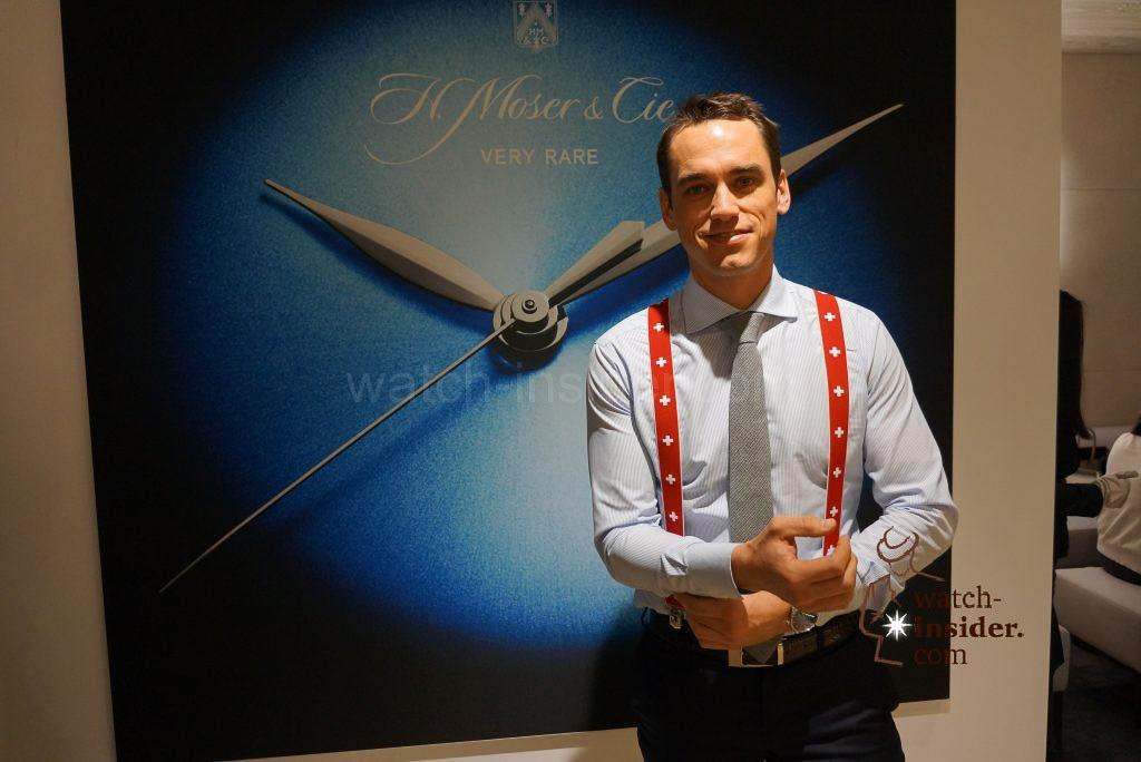 Edouard Meylan CEO H. Moser & Cie