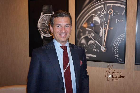 Louis Ferla SalesMarketing Director Vacheron Constantin