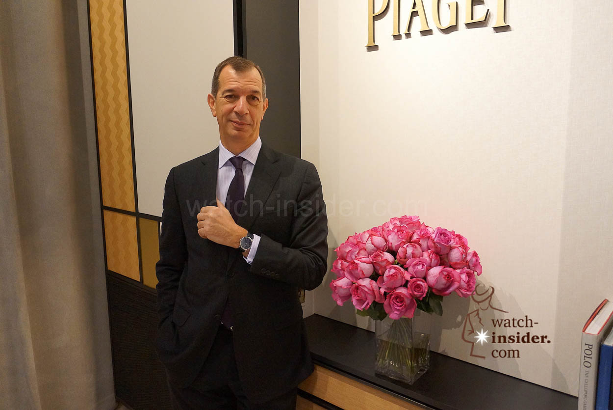 sihh interview philippe leopold metzger ceo piaget philippe leopold metzger ceo piaget