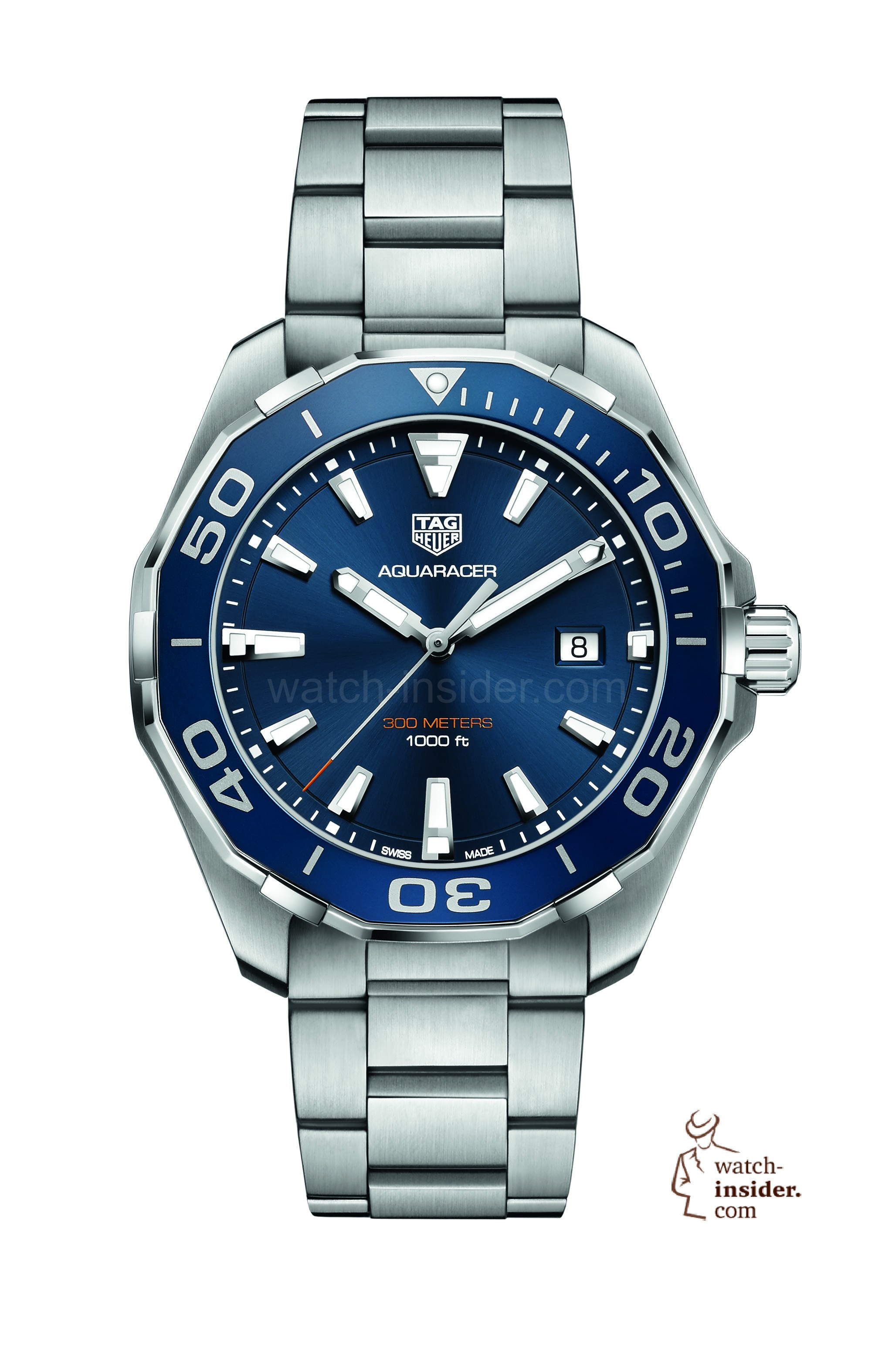 Tagheuer baselworld four new tag heuer watches watch for Tag heuer aquaracer 300m
