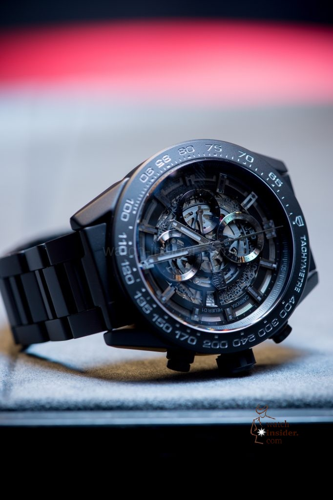 TAG Heuer Carrera Heuer-01 Full Black Matt Ceramic