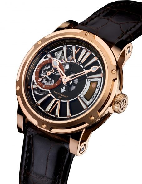 Louis Moinet Whisky Watch in Gold