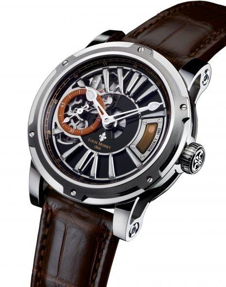 Louis Moinet Whisky Watch in Steel