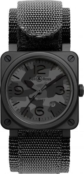 Bell & Ross Black Camo BR03-92