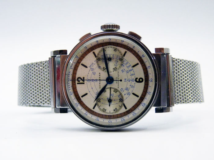Longines chronograph Ref. 13ZN – Men's watch – 1936