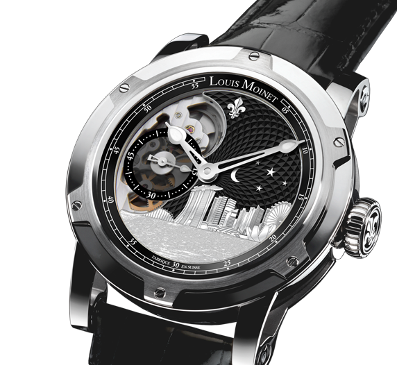 Louis Moinet Singapore Edition Watch