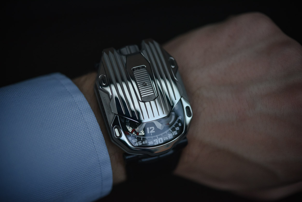 Urwerk Presents the UR-105 CT Streamliner