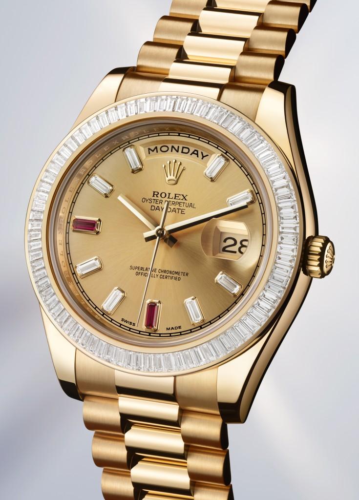 www.watch insider.de   news    Nach der Präsentation einige Details & Preise zu den Rolex Neuheiten (Update 23:00)   DAY DATE II 02 735x1024