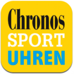 So sieht das Logo der Chronos-Sportuhren-iPhone-/iPad-App aus