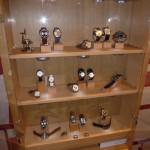 Die Uhrenvitrine von Maria und Richard Habring auf der Munichtime 2012.